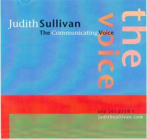 Judith Sullivan - Communicating Voice